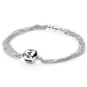 Genuine Pandora Mult-Strand Bracelet
